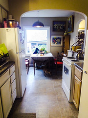 Mom's Kitchen (Homini:)) Tags: color window kitchen mom happy view bright good