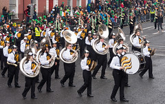 UNIVERSITY OF SOUTHERN MISSISSIPPI MARCHING BAND AT THE ST. PATRICK'S PRADE IN DUBLIN [2015] REF-1022434 (infomatique) Tags: band parade marching stpatricksday universityofsouthernmississippi prideofmississippi streetsofdublin infomatique zozimuz paddy2015infomat