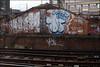 Dash / 10Foot (Alex Ellison) Tags: urban graffiti boobs railway dash graff southlondon trackside 10foot