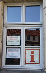 Promises, promises! (:Linda:) Tags: window museum germany town thuringia townhall information themar