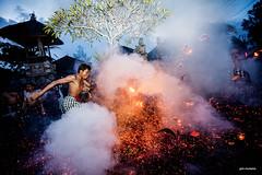 Kick the Fire!! (Gde Muriarka) Tags: canon fire war kick 5d api ubud gde nagi perang pengerupukan muriarka gdetha