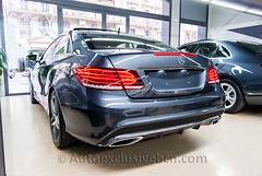 Mercedes-Benz Clase E 250 CDI Coupè - AMG - 204 c.v - ( C 207 ) - Gris Tenorita - Piel Beige/Azul Profundo