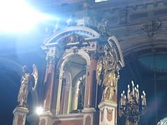 "Cathédrale de Santiago <a style=""margin-left:10px; font-size:0.8em;"" href=""http://www.flickr.com/photos/83080376@N03/17073671198/"" target=""_blank"">@flickr</a>"