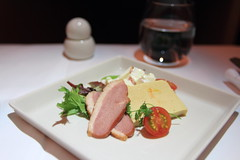 In-flight Meal - Singapore Airlines (A Sutanto) Tags: food plane airplane inflight singapore ham class business airline meal service appetizer airlines sq sia sq12