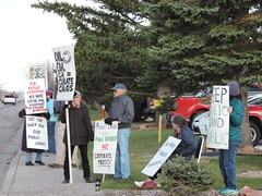 DSCN6545 (WildEarthGuardians) Tags: protest wyoming climate publiclands leasing oilandgas fracking keepitintheground