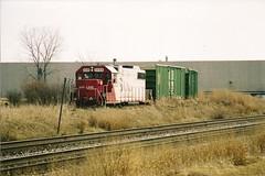 Tom Burke Photo CP Rail Itasca IL 2007 #1 (middlewest1) Tags: itasca il boxcar cprail sooline rohlwingroad milwaukeeroad