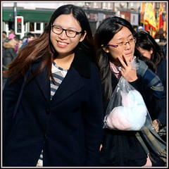 Chinatown girls (* RICHARD M (5 million views)) Tags: street liverpool portraits fun happy glasses chinatown candid chinese smiles couples happiness chinesenewyear celebrations portraiture specs eyeglasses multicultural scousers prettygirls merseyside kungheifatchoi streetportraits capitalofculture streetportraiture candidportraits europeancapitalofculture liverpudlians candidportraiture liverpoolgirls liverpoolschinatown unescocityofmusic chinesescousers unescomaritimemercantilecity liverpudlianchinese