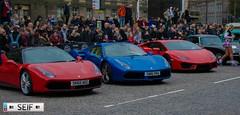 Ferrari 488 GTB S-A+ Lamborghini Aventador LP 700-4 Edinburgh 2016 (seifracing) Tags: girls rescue sexy cars car scotland edinburgh cops transport scottish ferrari voiture vehicles lp sa 3000 lamborghini spotting gumball rallye strathclyde gtb armed 2016 488 7004 aventador seifracing