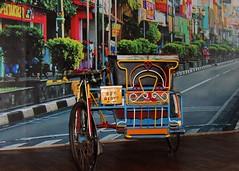 Becak Medan (Prayitno / Thank you for (10 millions +) views) Tags: bike museum indonesia java tricycle traditional style indoor east transportation jawa batu timur becak medan angkut konomark