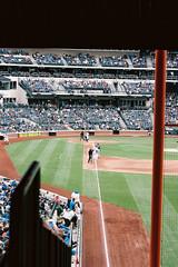 000020 () Tags: newyork film baseball pentax 85mm f18 mets mlb portra160  esii autotakumar  citifield