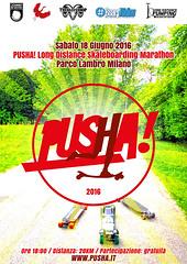 PUSHA! 2016 (Airone THP TNB) Tags: skateboarding milano longboarding pusha longdistancepumping longdistanceskateboarding longdistancepushing