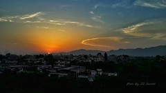 Sunset in Islamabad, Pakistan (zzqureshi) Tags: pakistan sunset sun hills islamabad margalahills
