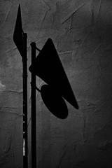(formwandlah) Tags: street city light shadow urban bw white abstract black strange night contrast dark blackwhite high shadows gloomy darkness pentax nacht surreal s mysterious sw gr monochrom sureal schatten ricoh kaiserslautern abstrakt personen thorsten prinz melancholic hintergrund kurve noire bizarr textur skurril einfarbig schwarzer mysteris melancholisch sgin strasenschild formwandlah