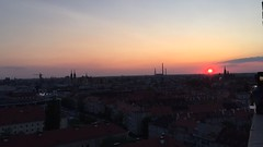 Wroclaw Sunsets (David N. Berger) Tags: sunset sunsets beautiful red color love amazing erasmus study studyabroad travel explore adventure poland wroclaw capitalofculture iphone raw unedited gorgeous views dormitory