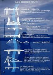 Eight Bridges (Hornbeam Arts) Tags: bridges middlesbrough stockton tees