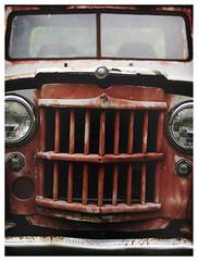 Willys (daveelmore) Tags: truck junk rust 4x4 pickup pickuptruck vehicle willys patina lumixleicadgsummilux25mm114
