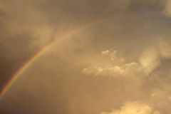 After the Hail (redmaiko) Tags: sunset storm clouds rainbow thunderstorm