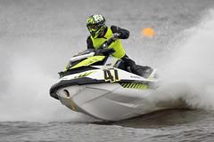 Water Race IV (callocx) Tags: water sport race speed boat action sweden splash vsters waterscooter lgarngen