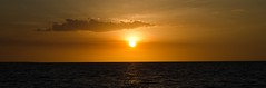 (mblaeck) Tags: sunset orange cloud sun water yellow sundown outdoor dusk horizon orb darwin mindilbeach