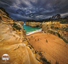 Loch Ard Gorge (kenneth chin) Tags: yahoo google nikon australia victoria nikkor greatoceanroad nationalparks attraction verticalpanorama portcampbell d810 1424f28g