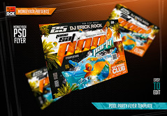 Pool Party Flyer Template (AndyDreamm) Tags: background bbq beach beachparty break club college event flyer garden holiday invitation lounge modern monkeybox new night parties party pool poolparty poster resort season spring springbreak summer summerparty water