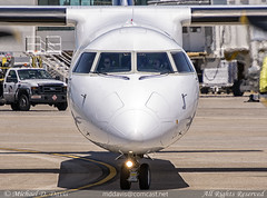 WestJet Encore Bombardier Dash 8 Q400 (C-GEEN) (Michael Davis Photography) Tags: airplane photography photo gate nashville aviation flight westjet departure takeoff runway dash8 bombardier ws bna taxiway nashvilletennessee q400 kbna nashvilleairport propliner cgeen westjetencore