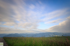 Morning speed (Double.D - Photography) Tags: road street sky mountain berg weather bulb clouds canon landscape outside outdoor meadow wiese himmel wolken sigma explore filter 1020mm landschaft schwarzwald blackforest langzeitbelichtung belchen doubled strase canon600d