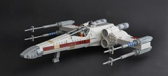 T-65 X wing (10) (Inthert) Tags: star starwars fighter ship lego luke r2d2 xwing wars skywalker moc t65 sfoils