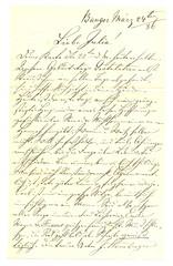 JS_to_Julia_S_1886-03-24 (Max Kade Institute for German-American Studies) Tags: handwriting script handwritten cursive sternberger kurrent