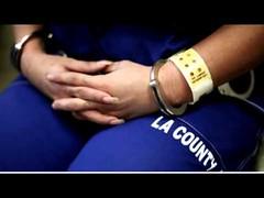 Prison Inmate handcuffed (JobsForFelonsHub) Tags: county la sitting prison jail inmate handcuffed booked