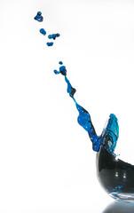In Space Nobody Can Hear You Drink (Brandon_Hilder) Tags: flash splash wineglass studio explore award best splashes liquid water highspeed glasses glassware cups glass stopmotion explored exploreaward glasss freeze freezeframe nikon nikon2470mm 2470mm nikkor d810 nikond810 public