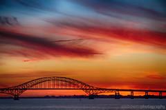 Robert Moses Causeway at Sunset (JetImagesOnline) Tags: sunset long island new york robert moses beach causeway hdr