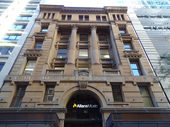 The grand old Bank of New South Wales building at 228 Pitt Street, Sydney NSW (davemail66) Tags: sydney nsw pittstreet bankofnewsouthwales