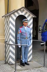 Prague Castle guard (black_betty2) Tags: praha praskhrad tschesche