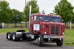"""1954 Kenworth KCC-825C """"Bullnose"""" (Truck Exposure) Tags: coe cabover kenworth19501959 kenworthcc kenworthkseries"""
