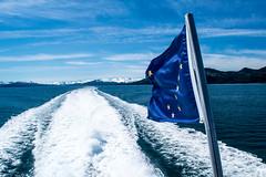 Alaskan Pride (Grant A Miller) Tags: alaska flag pride ship cruise ocean whittier blue polarized