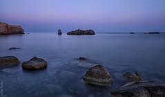Esplendor azul - Blue splendor (jmpastorg) Tags: mar sea seascape landscape paisaje panormica pano longeexposure largaexposicin tabarca espaa alicante spain 2016 1750 nikon horaazul blue