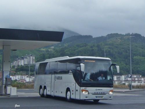 Setra S416 GT HD 157 de Arriva Portugal
