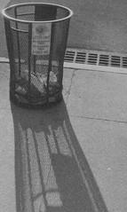 Trash Can in Chelsea NYC (forwardcameras) Tags: caffenolc kentmere100 olympusom10