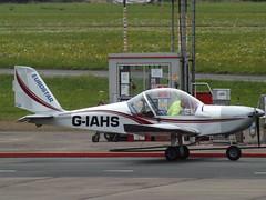 G-IAHS Eurostar EV97 (Aircaft @ Gloucestershire Airport By James) Tags: gloucestershire airport giahs eurostar ev97 egbj james lloyds