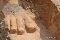 Ancient toes (konde) Tags: statue ramsesii ancientegypt tanis newkingdom 19thdynasty