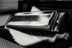 Fender Harmonica (Rafael SR) Tags: blackandwhite nikon blues fender pretoebranco harmonica monocrome gaita nikond3200