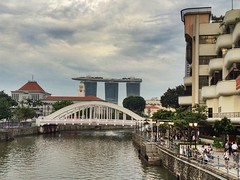 Singapore River (cattan2011) Tags: travel building nature river landscape singapore singaporeriver waterscape travelblogger