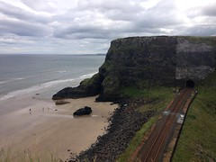 Black Glen, Black Tunnel (Garibaldi McFlurry) Tags: train railway tunnel downhill translink castlerock nir countylondonderry countyderry northernirelandrailways blackglen