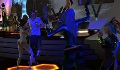 Cyber Partee (Carla Putnam) Tags: cyber party dance women fetish scifi simplybeautiful