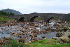 Sligachan - Isle of Skye (Herb287) Tags: nikon d60 unlimitedphotos scotland scottishhighlands isleofskye summer sligachan riversligachan bridge blackcullin landscapes landscape