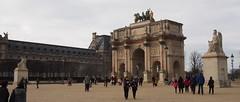 (procrast8) Tags: paris france place carrousel louvre palace palais arc triomphe