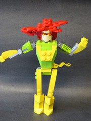 Phoenix (monsterbrick) Tags: monsters marvelous mixel masterpeice collection series 2 marvel lego moc phoenix xmen