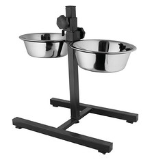SKU 1000: aGLOW Adjustable Stands with Pet Bowls. (TranscendentPet) Tags: dogs cats dog cat rabbit guinea pig birds parrot petbowls feeders waterers feedingtime
