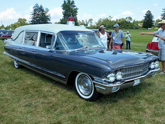 1962 Cadillac Miller-Meteor Combination (splattergraphics) Tags: 1962 cadillac millermeteor ambulance hearse combination carshow professionalcarsociety gettysburgpa